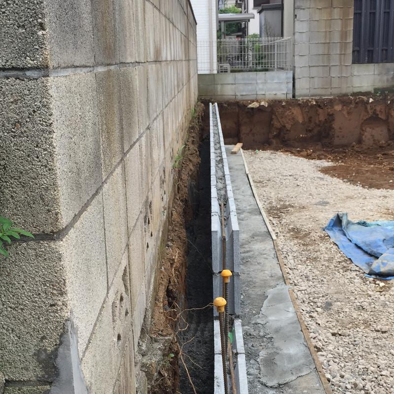 壁(隣地境界)