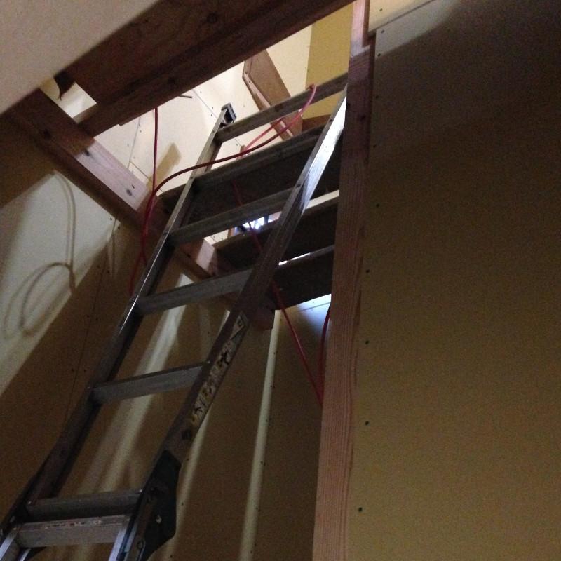 階段施工?